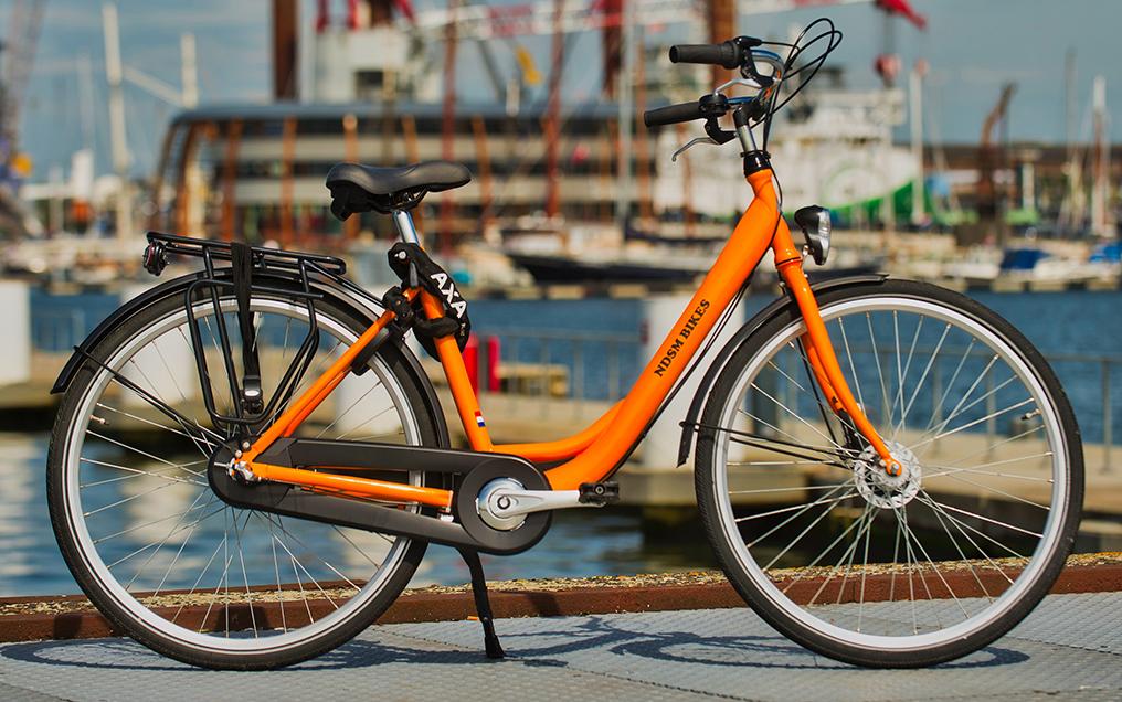 Orange Tour Bike